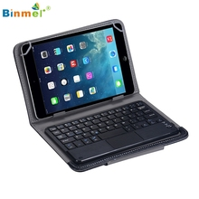 Binmer Hot Selling  Wireless Bluetooth Keyboard Touchpad For All 7-10 inch Android Tablet + Case Gift 1PCS Nov 4