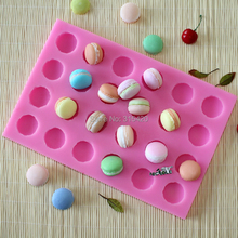 24 cavities Macarons Silicone Soap Molds,DIY Handmade Silicone Natural Soap Mold R1474