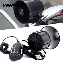 Vehemo 125dB Car Motor Alarm Bell Clock Speakers Amplifier Warning Supplies Black(China)