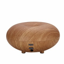 Air Aroma Diffusor Humidifier Nebulizer Wood Grain Ultrasonic Led light Aromatherapy Essential Oil Diffuser Purifier Mist Maker(China)
