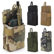 Pouch Holster Talkie-Holder Waist-Belt-Bag Molle Tactical-Radio 1000D CQC