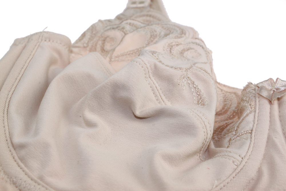 Embroidery Cotton Minmizer Bra For Women | Plua Size Bra 12