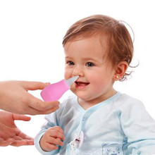 New Unseful Design Toddler Baby Nasal Aspirator Mucus Suction Vacuum Aspirator Tip Runny Nose Cleaner Pink/ Blue