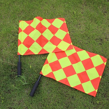 Soccer Referee Flag with Carry Bag Football Judge Sideline Fair Play use Sports Match Referee Equipment Football Linesman Flags