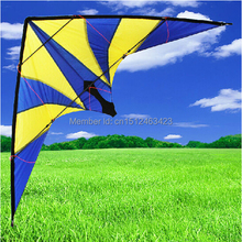 2015 New Outdoor Fun Sports 1.8m Lightning Power Stunt Kite Entry-Level For Beginner Good Flying Free Shipping(China)