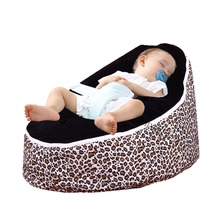 Multicolor Baby Bean Bag Bed Cover Without Filling For Baby Care Children Furniture Baby Chair Kids Lazy Sofa Chair Soft Bed