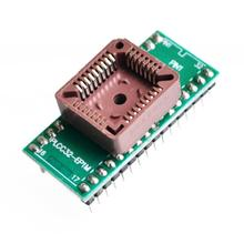 PLCC32 to DIP32 programmer IC adapter socket