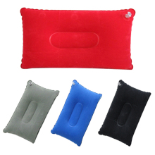 Inflatable Pillow with Velvet Double Sided Red/ Grey/ Navy Blue/ Royalblue