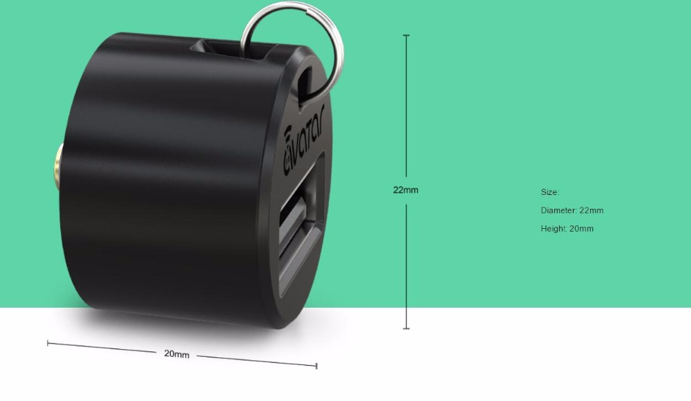 Electronic Cigarette charger Eleaf Avatar Reverse Charging RC Adapter USB for Wismec RX300 Eleaf iStick QC Eleaf Pico Dual