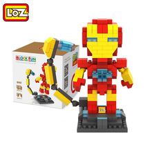 LOZ Single Sale Iron Man Tony Superheroes DIY Dolls 25Mini Diamond Bricks Building Blocks Toys Children 9447 - LOZs Block Store store