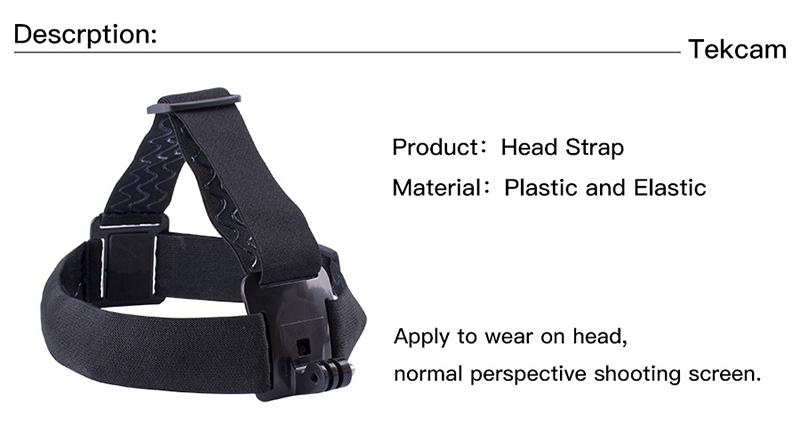gopro sjcam xiaomi yi action camera accessories head strap1