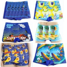 2017 Boys Beach Shorts Kids swimming trunks children swimsuits Boys Swimwear Swim Diaper Toddler Bathing Clothes Suit 2-10Years