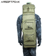 AIRSOFTPEAK 100CM Rifle Gun Bag Pouch Case Tactical Airsoft Hunting Accessories Waterproof gun Backpack(China)