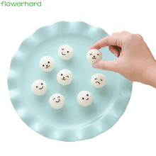 New Hot Emoji Rice Ball Molds DIY Cartoon smiling face Shape Sushi Maker Mould Seaweed Cutter Rice Ball Kitchen Mold Tools(China)