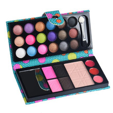 New Brand 26Colors Eyeshadow Palette Matte Diamond Glitter Foiled Eye Shadow in One Palette Blush Makeup Set for Beauty