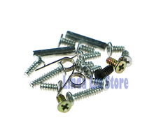 5pcs Brand New Screws + L R Springs + Strut Small Metal Fittings Full Set for Nintendo DS NDS Lite NDSL(China)