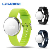 LEMDIOE UW1S Mirror Surface Screen Bracelet Heart Rate Bluetooth Smart Band for Android IOS Samsung Xiaomi Perfect for Women