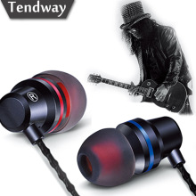 Tendway DM1 Spuer High Heavy Extra Bass In-ear Earphones with Mic Noise Canceling 3.5mm Eerphones for phone fone de ouvido