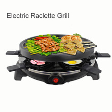 Multifunctional 900W Electric Pan Grill BBQ Grill Raclette Grill(China)