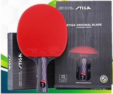 STIGA 9.8 Nano Table Tennis Racket Double Faces Pimples In Blue rubber Pingpong Paddle  Pingpong Blade tenis de mesa 81006