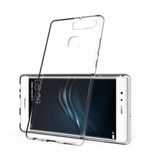 HC17 Transparent Soft Silicone TPU Case Slim Cover For Huawei Ascend P7 P8 P9 Lite Max Mate S 7 8 Honor 4C 4A 3C 3X 4X 5X 6 V8