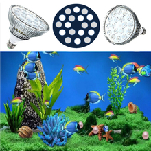 54W PAR38 LED Aquarium Growing Lighting for Tropical Fish Saltwater Fish Coral Reef E27 Grow lights Aquarium Plants Grow Lamp(China)