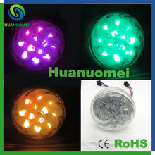 60mm led amusement turbo led light smd 12leds magic color pixel module outdoor rides led light(China)