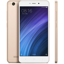 Original Xiaomi Redmi 4A 2GB RAM 16G ROM Mobile Phone Snapdragon 425 Quad Core 13MP 3120mAh Battery