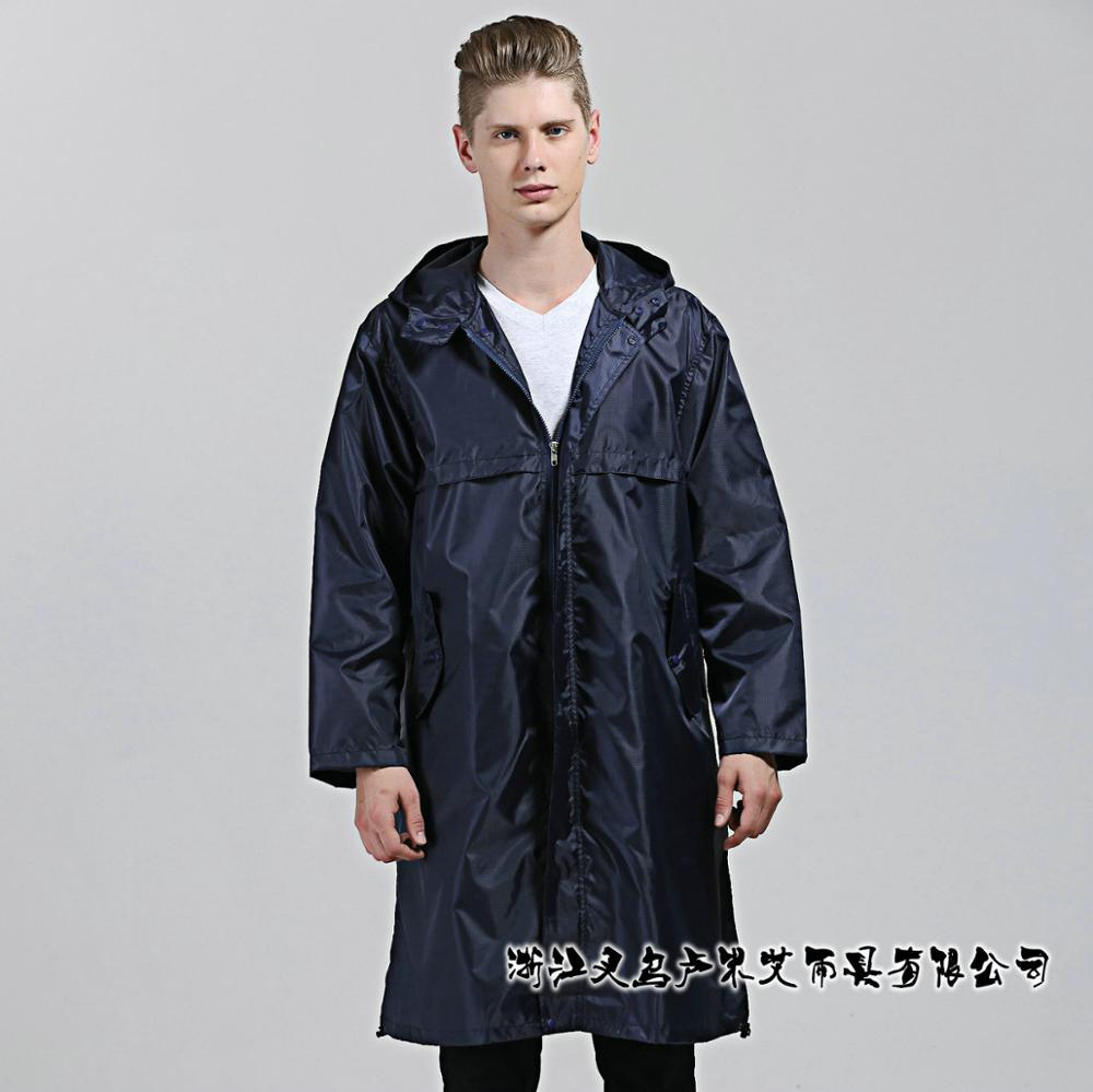Hooded Raincoat  women men ultralight windproof waterproof travel regenjas rain poncho coat chubasquero capa de chuva