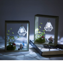 New Led Lamp Design Time Door Interest Original Wooden Decoration Creative Furniture Ornament Great Gift Led Night Lamp