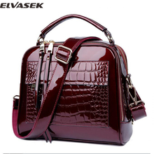 Elvasek new arrival women messenger bags women handbags pu leather handbags single shoulder bag shell bags bolsas pouch DH0160