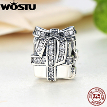 Hot Sale 925 Sterling Silver Sparkling Surprise Charm Fit Original WST Bracelet Pendant Authentic Women Jewelry Gift Present(China)
