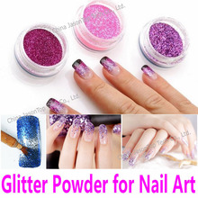 Nail Glitter Powder Nail Art Decorations PET Hexagon Shimmer Glitters UV Gel Acrylic Shining Crafts 19 Popular Colors Wholesale