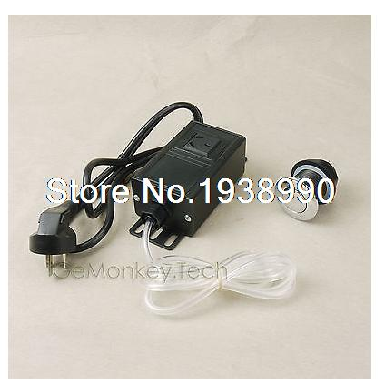 Garbage Disposal Air Switch Unit Assembly Push Button Sink Top Switch<br>