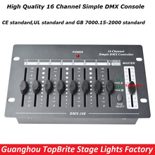 2017 Factroy Price NEW Arrival 1XLot 16 Channels Simple DMX Controller DMX 512 Console For Stage DJ Disco Lighting Free Shipping
