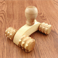 TOORG high quality Wooden Car Roller Massage Reflexology Hand Foot Back Body Therapy Relaxing Gifts best seller#30