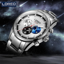 LOREO Germany Watches Luxury Brand Automatic Self-Wind Luminous Waterproof 200M Oyster Perpetual Pro Diver Stainless Steel M15(China)