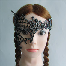hot sell silver Sexy Lady Lace Mask Eye Mask for Masquerade Party Fancy Dress Costume Hallowmas mask M184