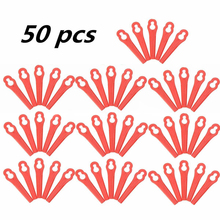 50pcs Plastic Trimmer Blades Garden Replacement Blade Tool Parts for Lawn Mower Grass Cutter Blade Garden Tools Mayitr