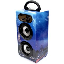 Handsfree Wireless Speaker Super Bass Stereo Bluetooth subwoofer Eiffel Tower 10W sound box radio FM Micro SD USB AUX Portatil
