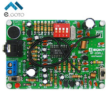 87-108MHz FM Frequency Modulation Wireless Microphone Module DIY FM Transmitter Board Parts Stereo FM Transmitter Module DC 4-6V
