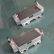 Aluminum radiator For yamaha WR250F 2001-2006 Left and right water boxes for engine cooling system of the motorcycle Free ship