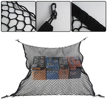 Car Trunk Vehicles Rear Cargo Storage Elastic Mesh Net Holder w/4 Hooks new