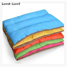 Lovd-Lovf Solid Warm Bed Mats for Pet Cushion Mat Warm Dog Mattress Pad for Pet House/Kennels/Cage/Crate/Bed Pet Supplies