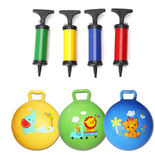 1pc Inflatable Bouncing Ball Sport Toy and ball pump Colorful Cartoon Animal Educational Toy for Baby Ball Toys