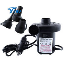 12V 4800PA AC Car Electric Air Pump For Camping Airbed Boat Toy For Outdoor Air Bed Pump