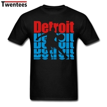Plus Size Detroit Basketballing Player For Men Tees Shirt Top Design White Short Sleeve Custom Team T-shirts