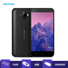 Ulefone S7 3G Smartphone 5.0'' HD 2500mAh Android 7.0 1GB RAM 8GB ROM MTK6580 Quad Core Dual Back Cams Mobile Phone Cellphones(China)