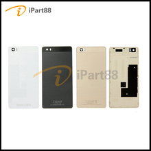 iPart88 For Huawei P8 Lite Rear Battery Door Housing + Camera Glass Lens Case For Huawei P8 Lite Case Original Battery Cover