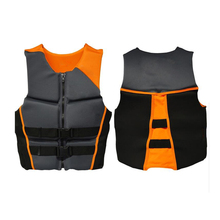 adult life vest neoprene floating vests swim life jacket surfing vest buoy swimming inflatable water waterski rescue buoy(China)